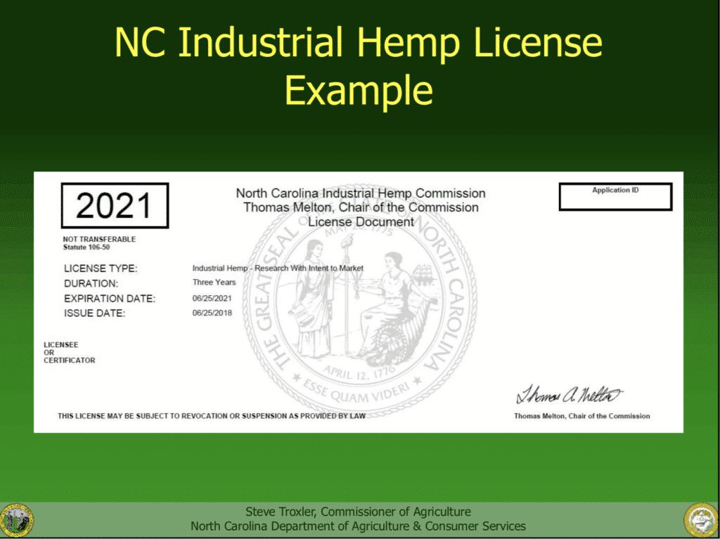 Growing Hemp in NC: The Industrial Hemp Production Workshop - Guide